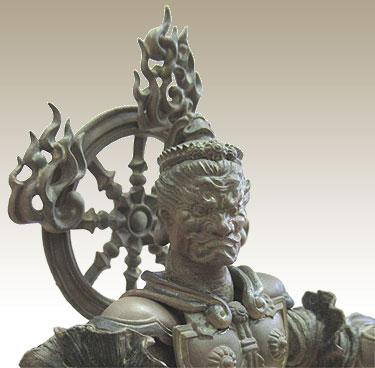 毘沙門天-時間の神