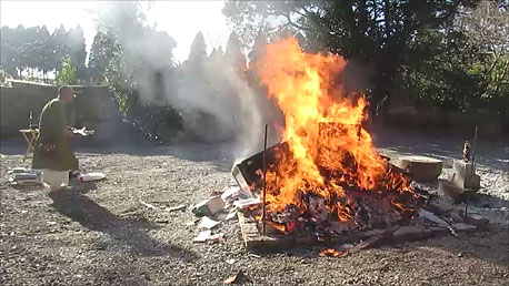 仏壇-お焚き上げ