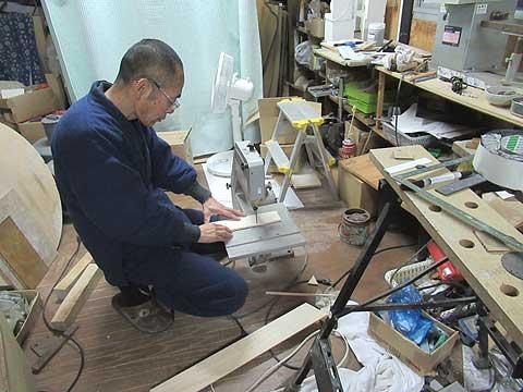 木札の制作