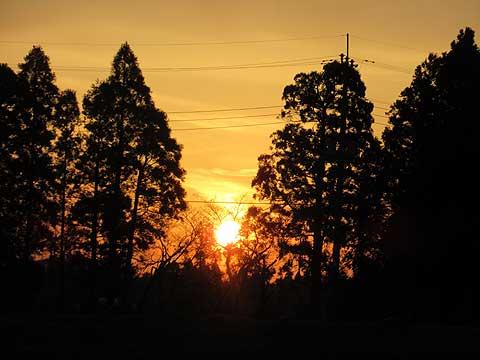 地球が太陽から離れている