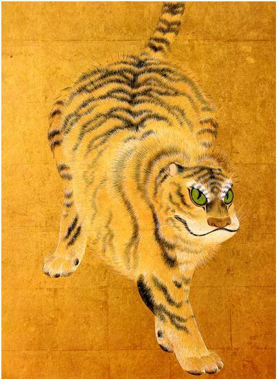 丸山応挙の虎