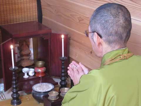 仏壇の開眼供養