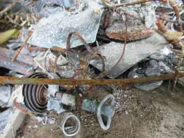 お焚き上げ品の金属回収