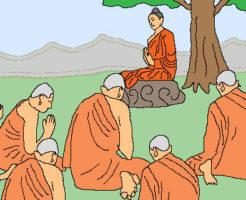 釈迦の説法-散骨について