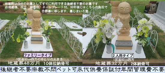 地蔵葬とは