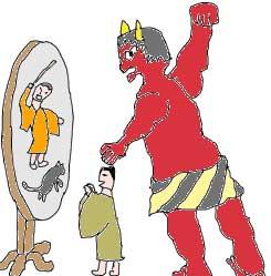 浄頗梨の鏡