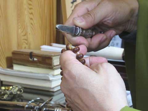 独鈷杵の使い方