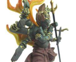 軍荼利明王と蛇