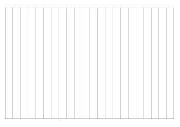 般若心経の写経の罫線