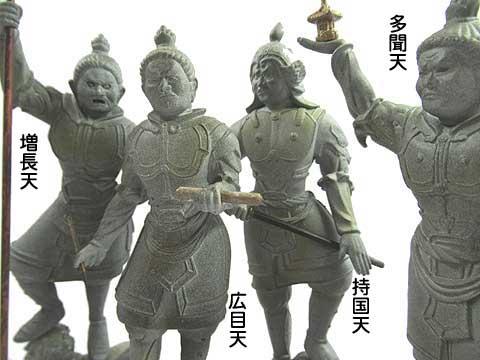 四天王の区別の仕方
